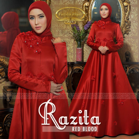 Razita Dress Red