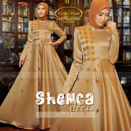 Shenca Dress Gold