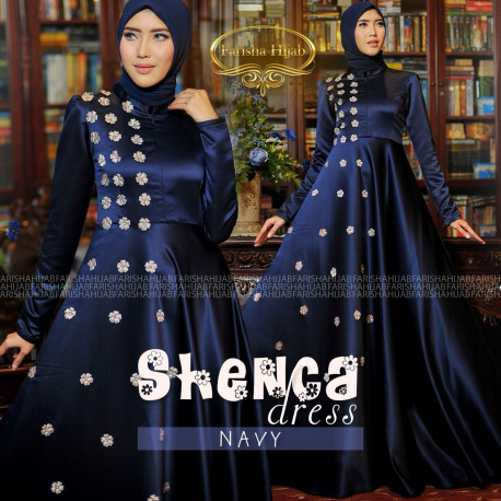 Shenca Dress Navy