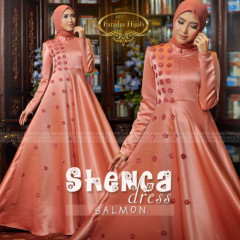 Shenca Dress Salmon