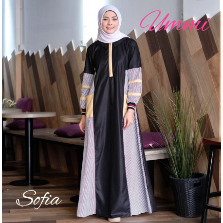 Sofia Dress Black