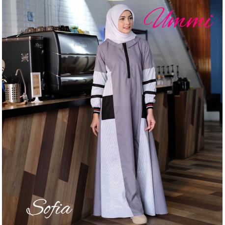 Sofia Dress Grey