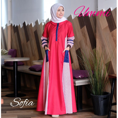 Sofia Dress Red