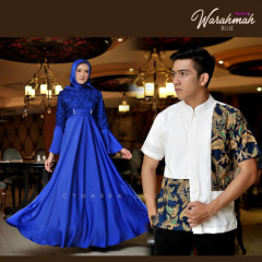 Warahmah Couple Blue