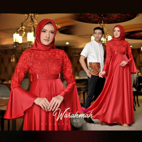 Warahmah Couple Red
