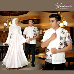 Warahmah Couple White