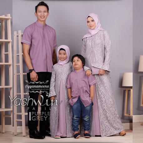 Yashwin Purple Grey