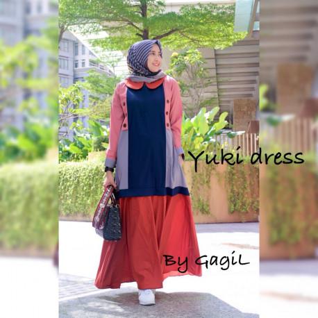 Yuki Navy Red