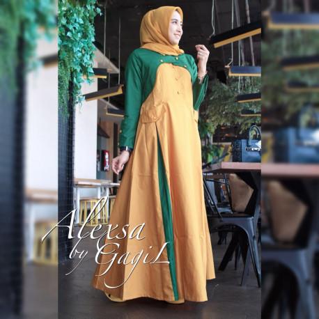 Alexsa Casual Green Yellow
