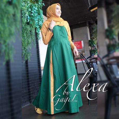 Alexsa Casual Yellow Green