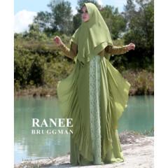 Aliyah Syari Green Olive