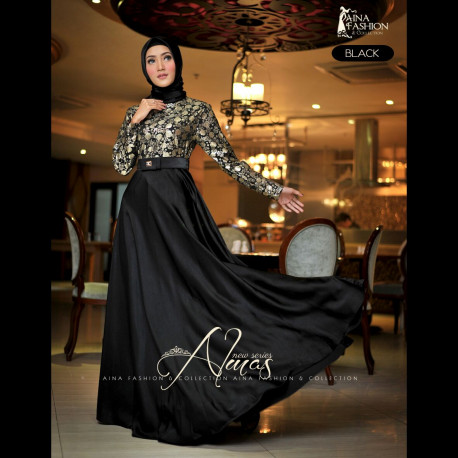 Almas Dress Black