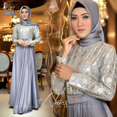 Almas Dress Grey