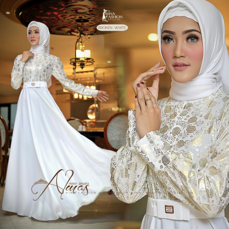 Almas Dress White
