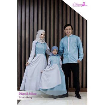 Dilan Milea Blue Grey