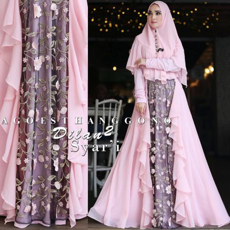 Dilan Syari 2 Soft Pink