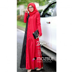 Dyta Dress Red