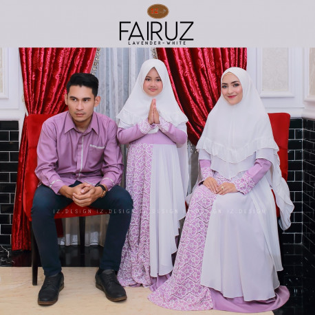 Fairuz Couple Lavender