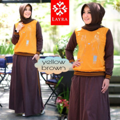 Gea set 2 Yellow Brown