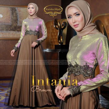 Intania Dress Brown