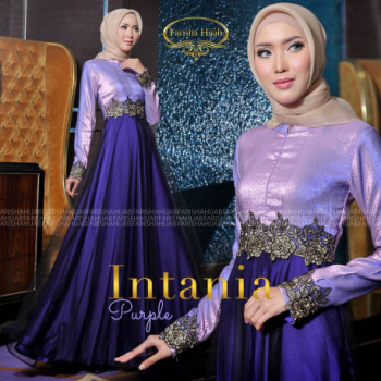 Intania Dress Purple