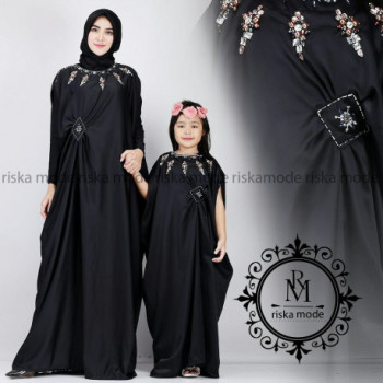 Kaftan Couple Black