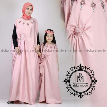 Kaftan Couple Pink
