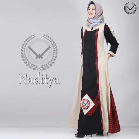 Naditya Peach Black