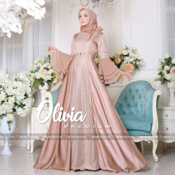 Olivia Dress Brown