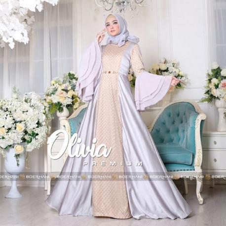 Olivia Dress Grey