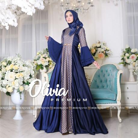Olivia Dress Navy