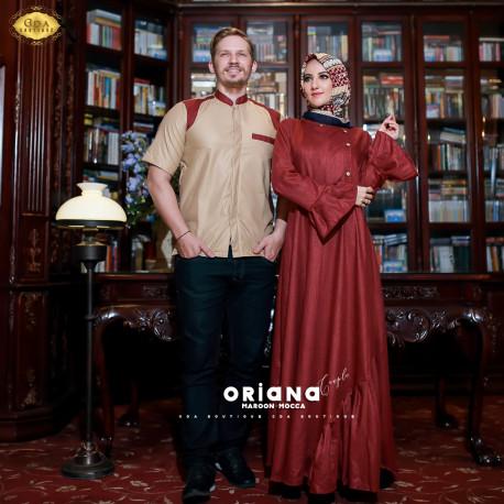 Oriana Couple Mocca Maroon