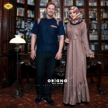 Oriana Couple Navy Coffe