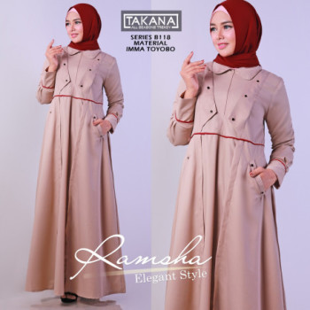 Ramsha Dress Cream