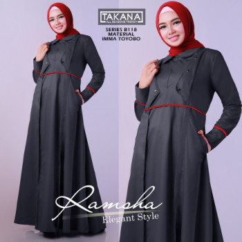 Ramsha Dress Grey