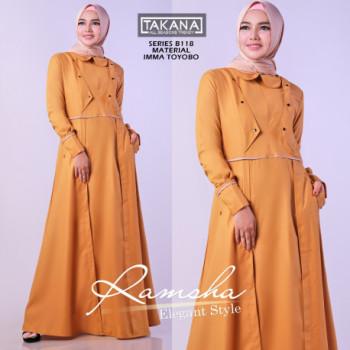 Ramsha Dress Orange