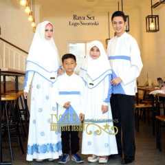 Raya Set Sarimbit Blue