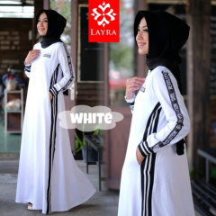 Ria Dress White