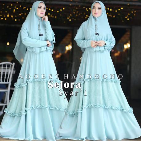 Sefora Syari Blue