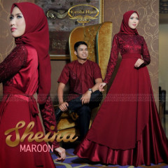 Sheina Couple Maroon