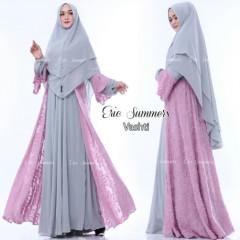 Vashti Syari -Grey Pink