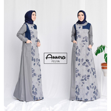 Felya Dress Grey
