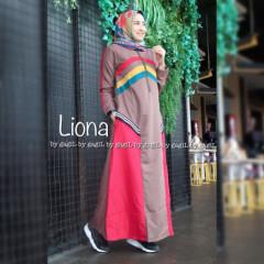 Liona Dress Brown