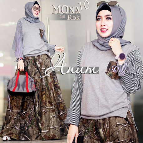 Mona set 10 Grey