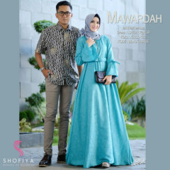 New Mawardah Couple Blue