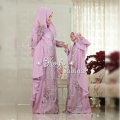 Sabina Couple Syari Lavender