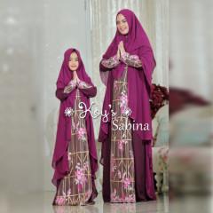 Sabina Couple Syari Magenta