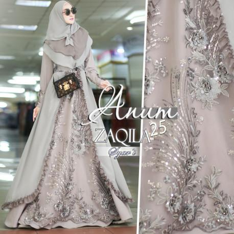 Zaqila Dress Grey