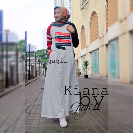 Kiara Dress Grey