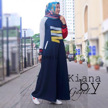 Kiara Dress Navy Blue